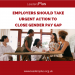 Employers Should Take Urgent Action To Close Gender Pay Gap